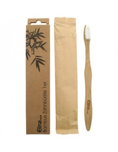 Brosse à dent en bambou Biodégradable Elina