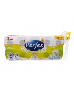 Papier toilette 3 plis camomille Perfex