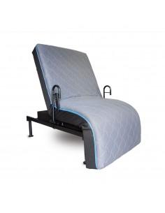 Lit-fauteuil à translation 3 fonctions 96x203 cm