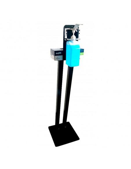 Distributeur à coude sur pied pour flacon avec pompe