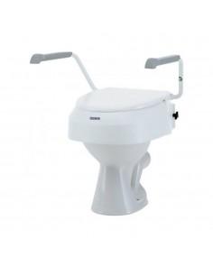 Rehausse WC avec accoudoir Aqua-Tec