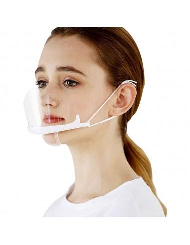 Visière de protection de bouche...