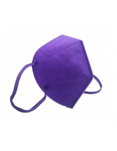 Masque FFP2 NR violet