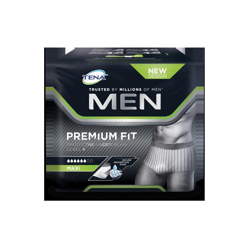 TENA men premium fit underwear level 4