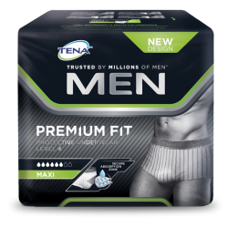 TENA men premium fit underwear level 4