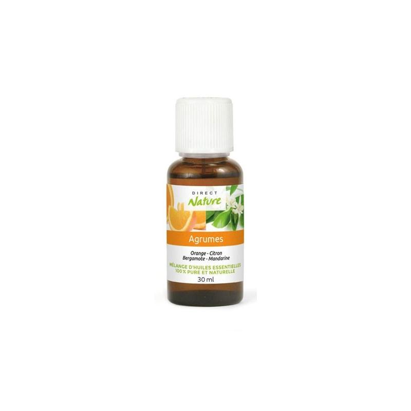 Mélange huile essentielle Agrumes 30ml