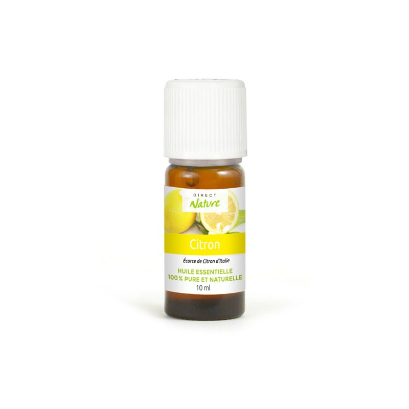 Huile essentielle naturelle citron 10ml