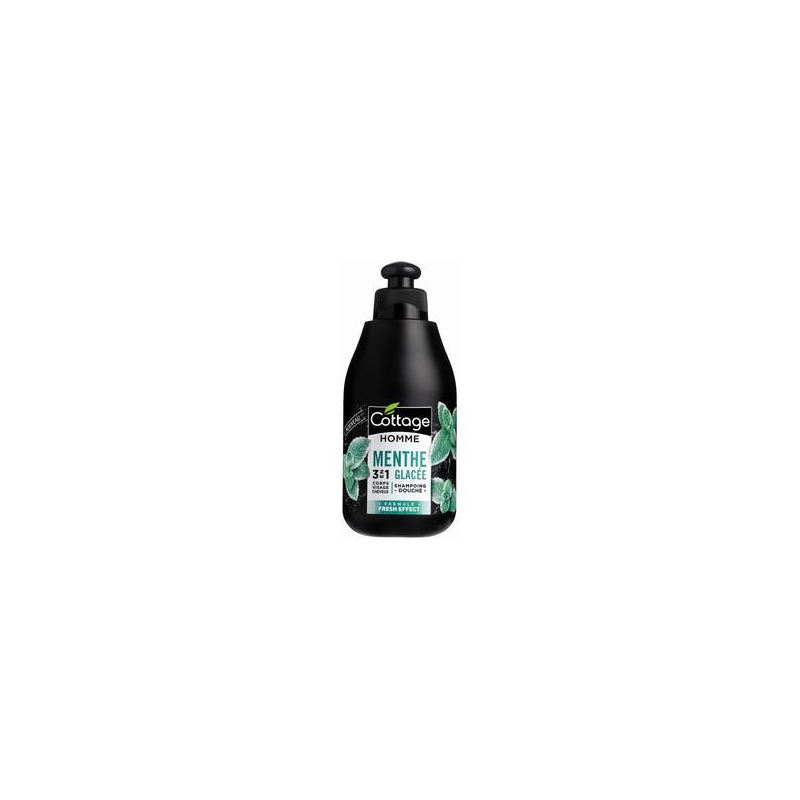 COTTAGE shampoing douche homme menthe...