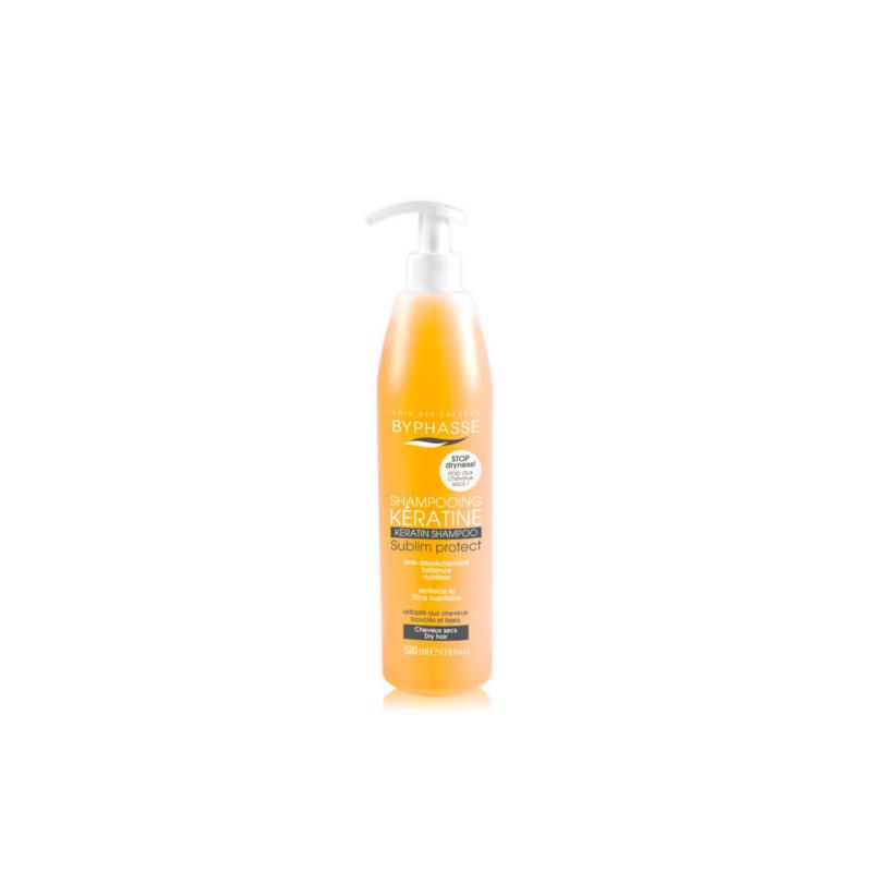 Shampoing Keratine Cheveux Secs 520 Ml