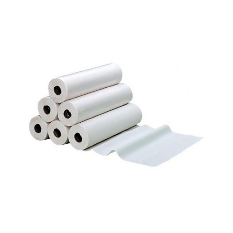 Drap d'examen blanc 2 plis gaufré