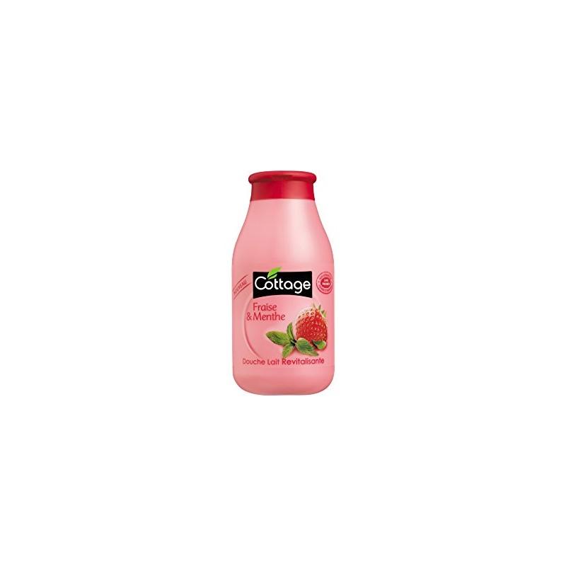 COTTAGE lait douche fraise/menthe 250ml
